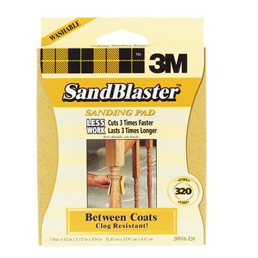 3M SandBlaster™ Between Coats Sanding Sponges