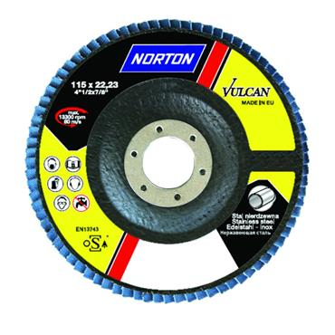 NORTON Vulcan 180mm Flap Discs