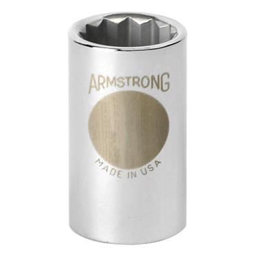 Armstrong Metric 12 Point 1/2'' Drive Socket