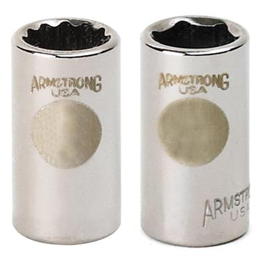 Armstrong Metric 6 Point Extra Deep 3/8'' Drive Socket