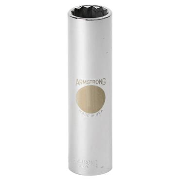 Armstrong Metric 12 Point Extra Deep 1/2'' Drive Socket
