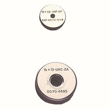 CITEC Metric Fine BS 3643 No Go Screw Ring Gauges
