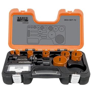 Bahco 3834-SET-72 Hole Saw Kits