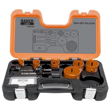 Bahco 3834-65-22/64 Hole Saw Kits