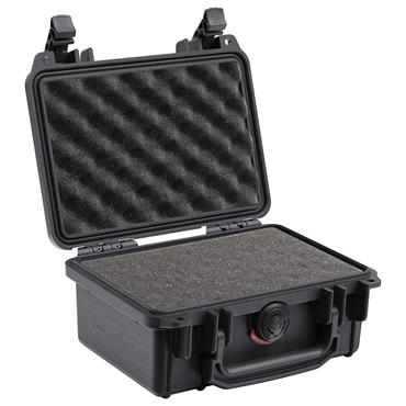 Peli 188 x 125 x 76mm Black Waterproof Protector Case with Foam - 1120