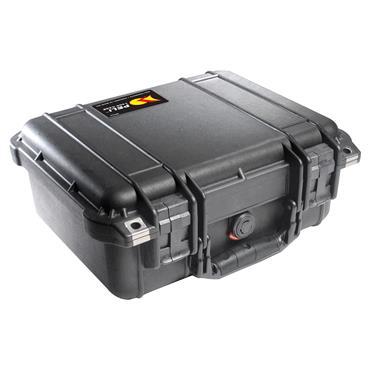 Peli 300 x 228 x 130mm Black Waterproof Protector Case - 1400