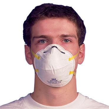 3M 8710E Hand Sanding FFP1 Disposable Respirator - 20 Pack