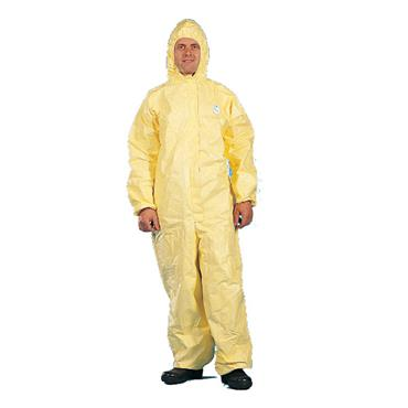 Dupont Tychem® 2000 hooded coverall Coverall - Yellow