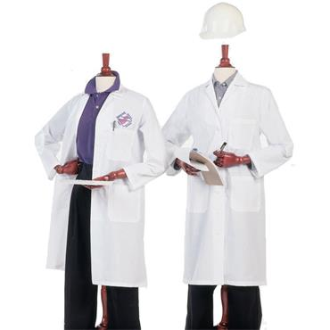 CITEC Men's Lab Coats - White