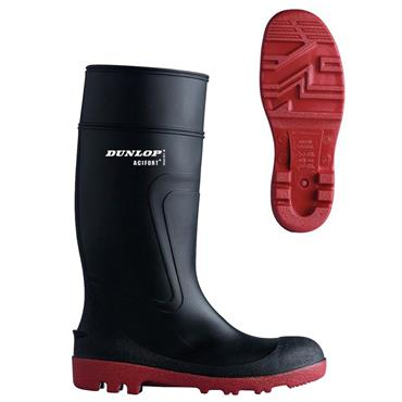 Dunlop D886408 Acifort Warwick S5 Black Wellington Safety Boots