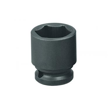 "Gedore K19 Metric Hexagon 1/2"" Drive Impact Socket"