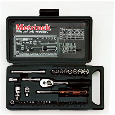 "Metrinch 325 37 Piece 1/4"" Drive Socket Set"