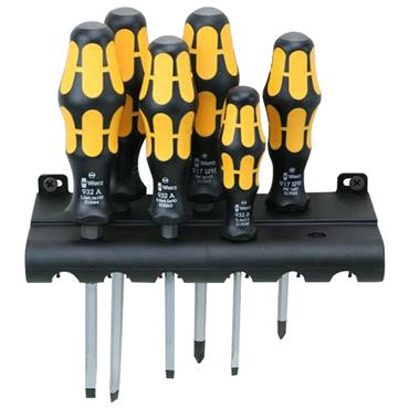 Wera 018282 932/6 6 Piece Mixed Kraftform Plus Screwdriver set