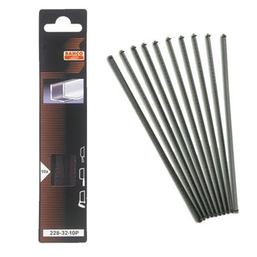 Bahco 228-32-10P 150mm Junior Hacksaw Blade - 10 Pack