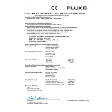 Fluke 376 FC True-RMS AC/DC Clamp Meter