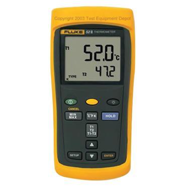 Fluke 52 II Handheld Dual Input Digital Thermometer