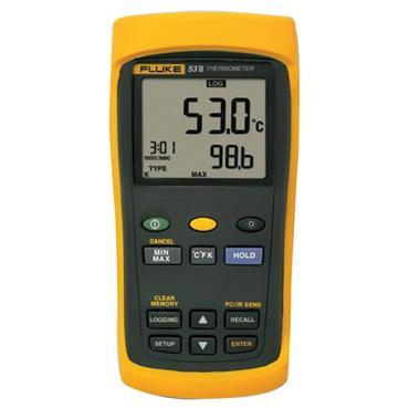 Fluke 53 II Handheld Single Input Digital Thermometer