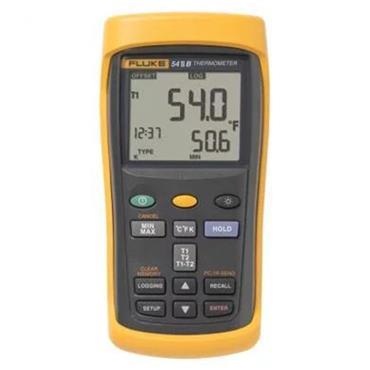 Fluke 54 II B Handheld Dual Input Data Logging Thermometer