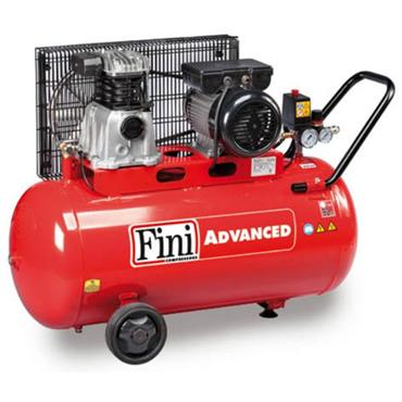 Fini MK102/N/90-2M 90 Litre 230 Volt Belt Driven Air Compressor