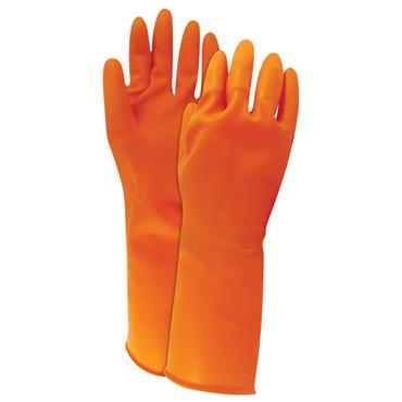 North AK1815O Orange Powder Free Cleanroom Gloves