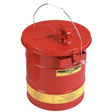 Justrite 27705 19 Litre Self-Close Portable Mixing Tank