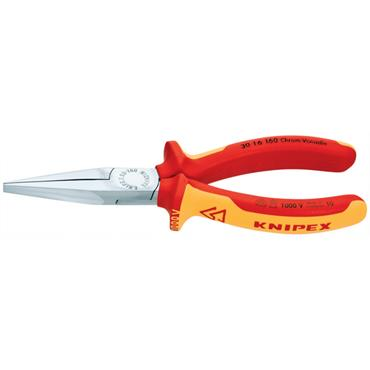 Knipex 30 16 160 160mm VDE Long Nose Pliers