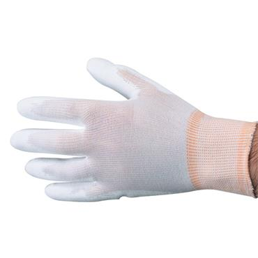 Polyco 8802 Polyflex Palm-side Coated White Gloves