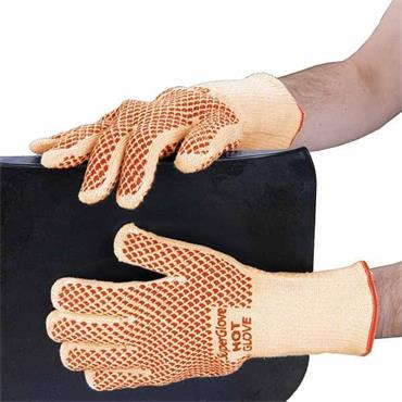 Polyco 9010 Double Layered Cotton Glove with Nitrile Grip Coating