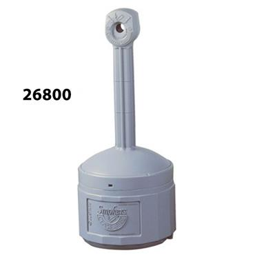 Justrite 26800 15 Litre Polyethylene Cigarette Butt Receptacle