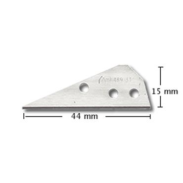 Mure & Peyrot 489.3 10 Piece Stainless Steel Blade