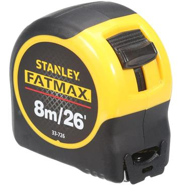 Stanley 33-726 8m FatMax Blade Armor Metric/Imperial Measuring Tape