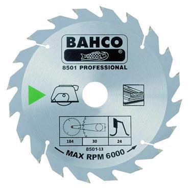 Bahco 184 x 30 x 24T, Circular Saw Blade - 8501-13