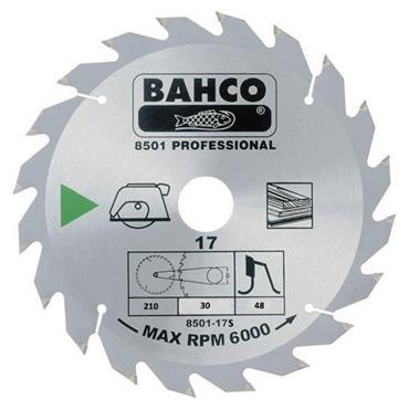 Bahco 210 x 30 x 48T, Circular Saw Blade - 8501-17S