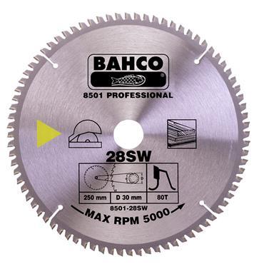 Bahco 250 x 30 x 60T, Circular Saw Blade - 8501-28SW