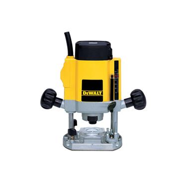 "DeWALT DW615 900 Watt 1/4"" Variable Speed Plunge Router"