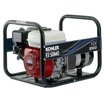 SDMO HX 3000 2.7kW Honda Engine Portable Power Generator