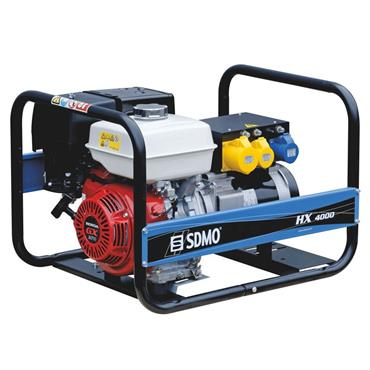 SDMO HX 4000 3.7 kW Honda Engine Portable Power Generator