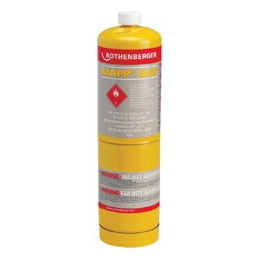 ROTHENBERGER Disposable Mapp Gas Cylinder 3.5536R
