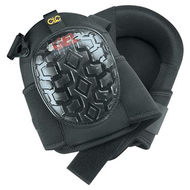 Custom Leathercraft G340 Professional Gel Knee Pads - Black