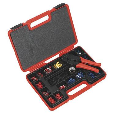Sealey AK386 552 Piece Ratchet Crimping Tool Kit
