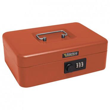 Sterling Keyless Cash Box w/Combination Lock