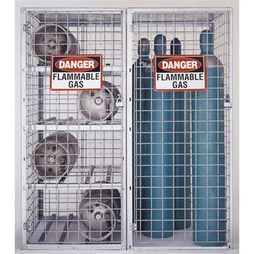 Folding Guard SAF-T Cylinder Storage Flammable Cabinet