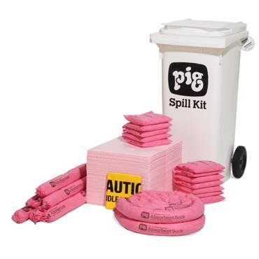 New Pig KITE301 80.7 Litre Mobile Container Spill Kit