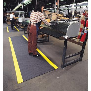 NO TRAX  Pebble Step Sof-Tred Safety / Anti Fatigue Matting - Dry Area