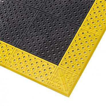 NO TRAX  737 Diamond Plate Safety / Anti-Fatigue Matting - Dry Area