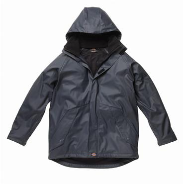 Dickies WP50000 Raintex Waterproof Lined Jacket - Navy Blue