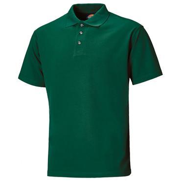 Dickies SH21220 Half Sleeve Polo Shirt - Bottle Green