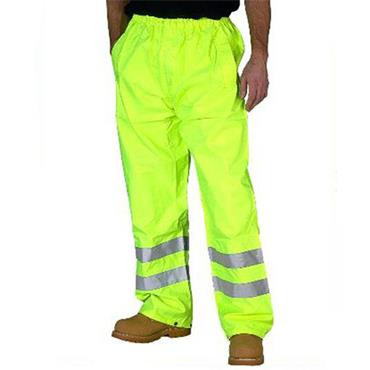 CITEC TEN High-Visibility Waterproof Trousers - Saturn Yellow