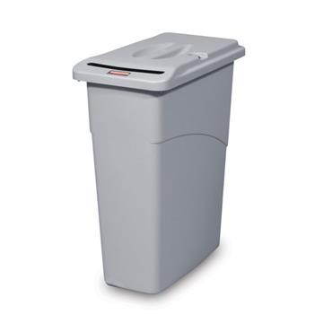 RUBBRMAID 9W15 Slim Jim® Confidential Document Container