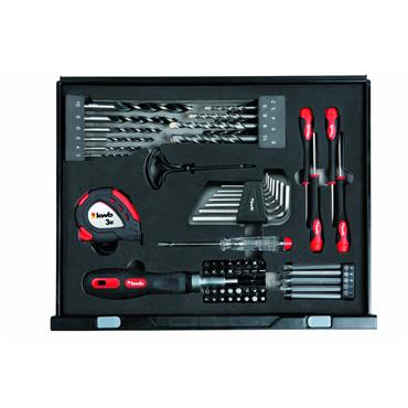 KWB 400100 90 Piece DIY Tool Kit